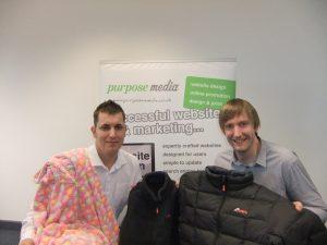 L-R Matt Wheatcroft & Tim Lenton in November 2011