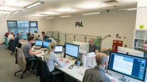 Purpose Media team in June 2016. Over 30 digital marketing experts.