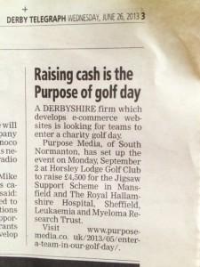 DET Golf day 23 June 2013