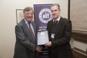 Nick Johnson from Hopology with Kenneth Clarke