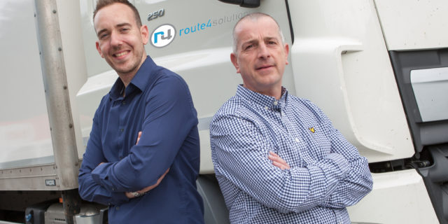 L-R Chris Lawlor and Mike Harris from Route4 Solutions