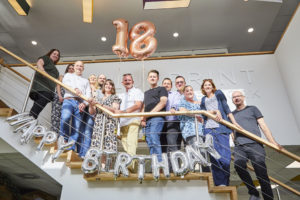 Blueprint Interiors celebrate 18th Anniversary